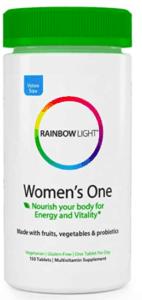 best multivitamins for women rainbow light