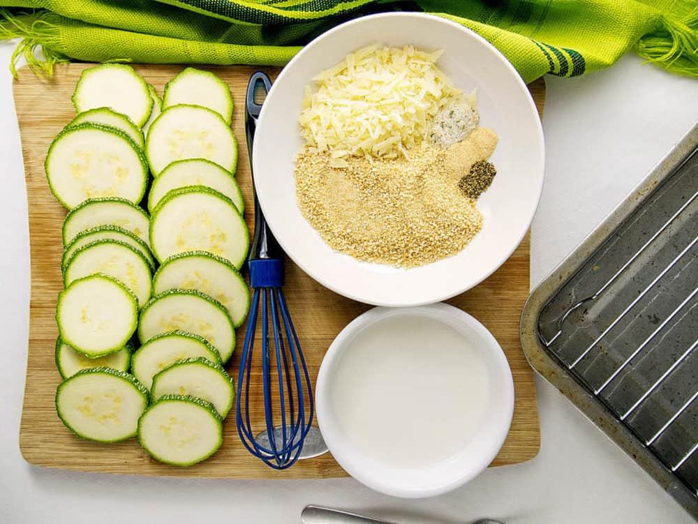 zucchini chips ingredients