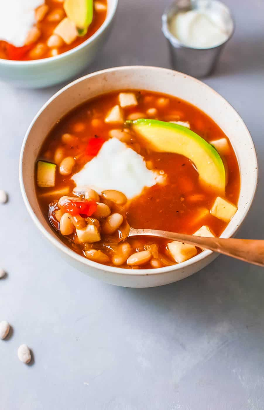 Vegan White Bean Soup Gluten Free The Picky Eater