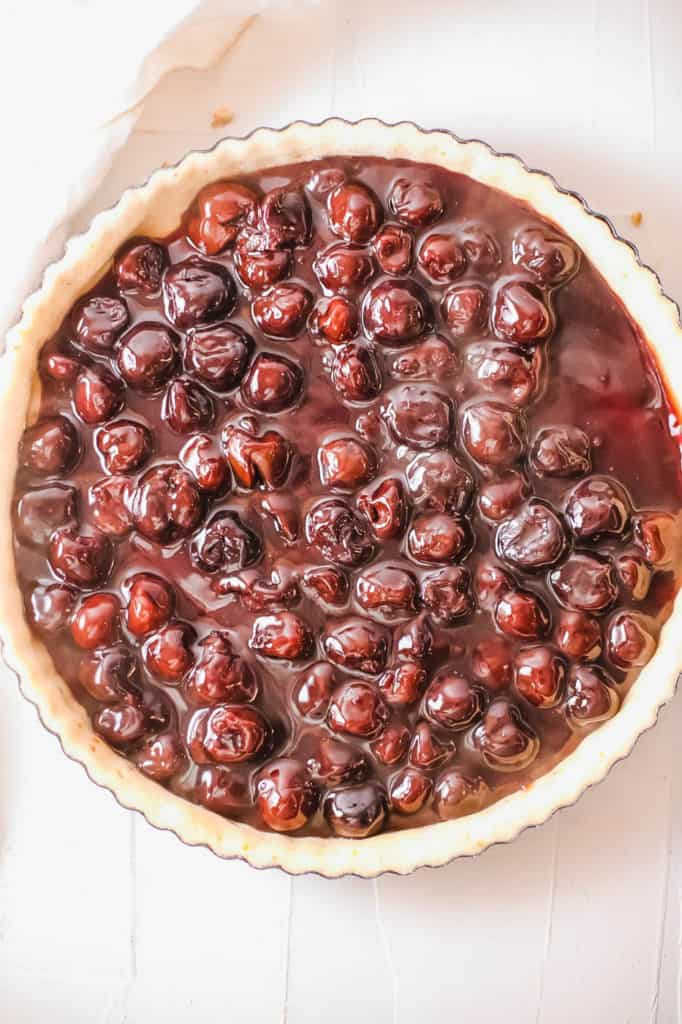 cherries in pie crust