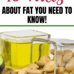Fatos sobre a gordura: 10 coisas que você precisa saber 2