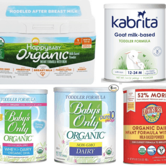 best baby formula brands in the US - top 10 list