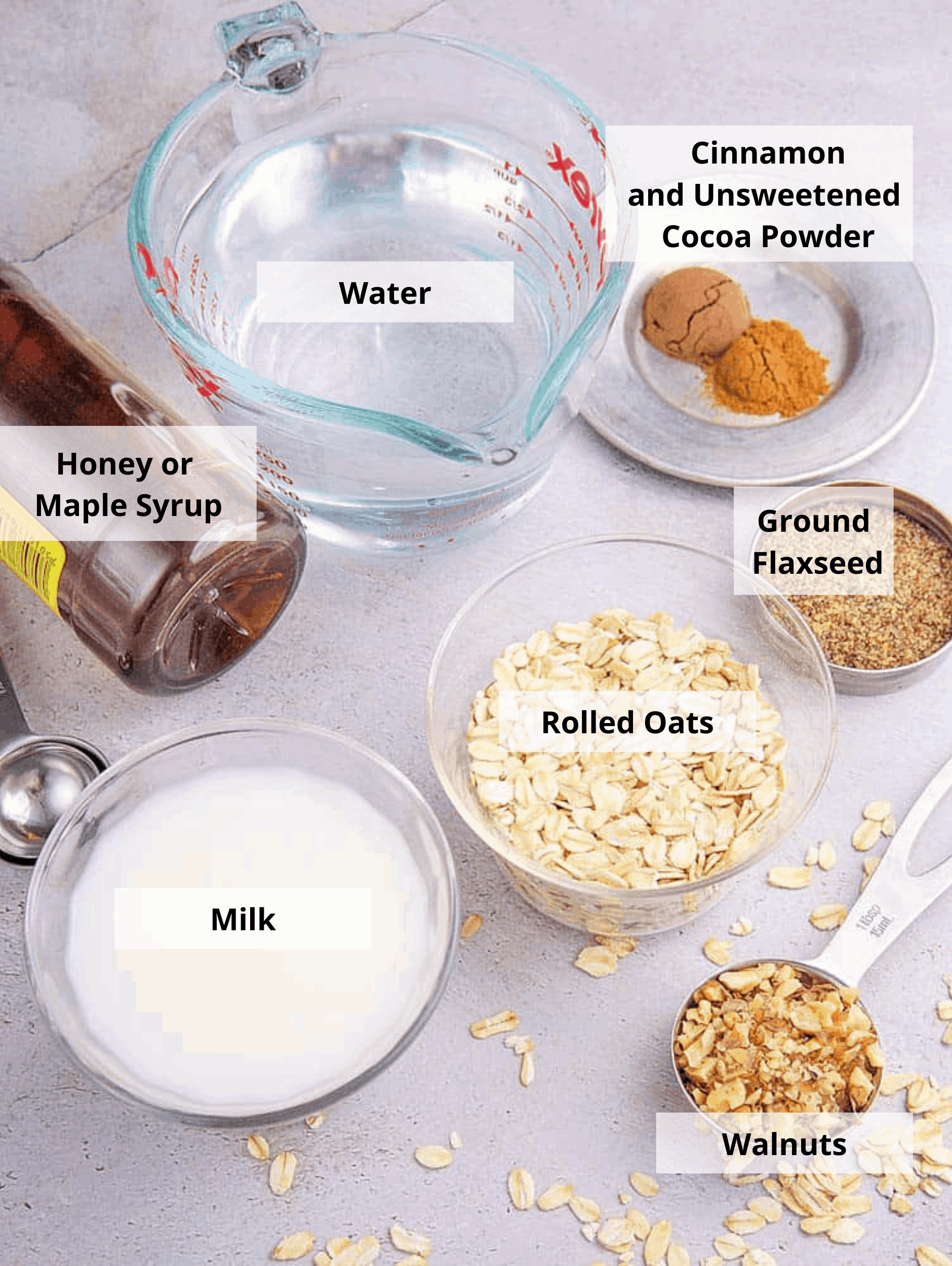 chocolate oats ingredients