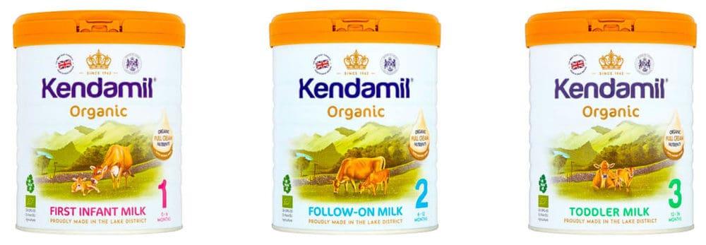 recipientes de fórmula kendamil, estágio 1, 2, 3