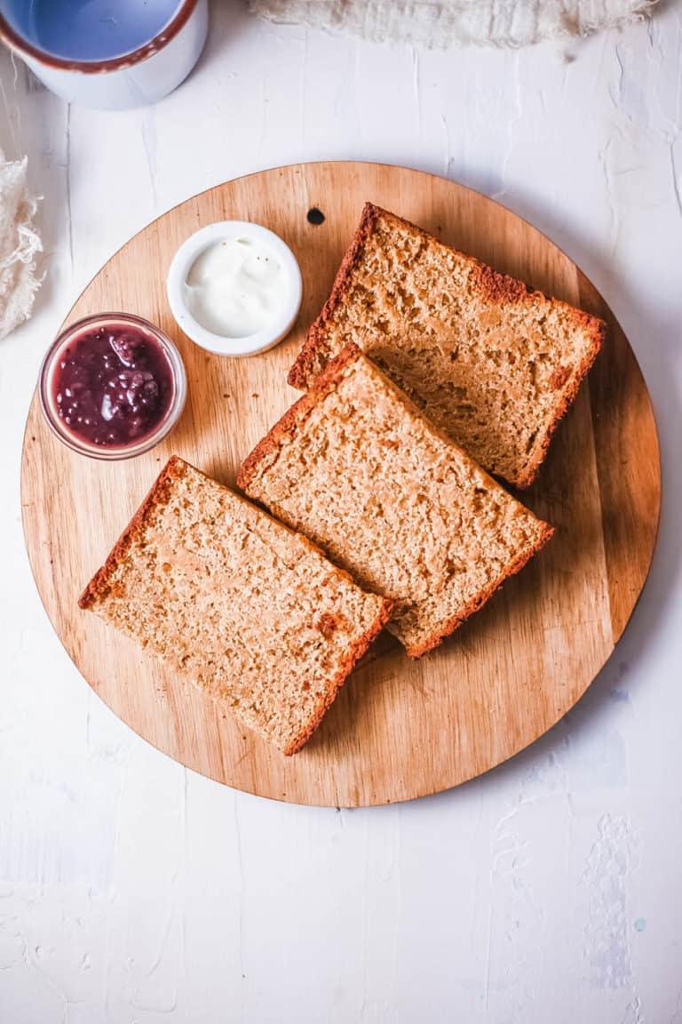 Receita de pão sem glúten 1