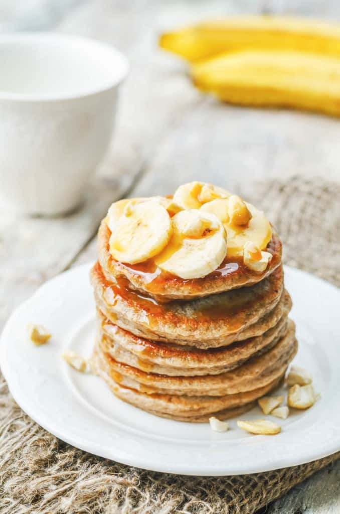 vegetarian breakfast recipes - pancakes