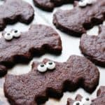 chocolate bat cookies