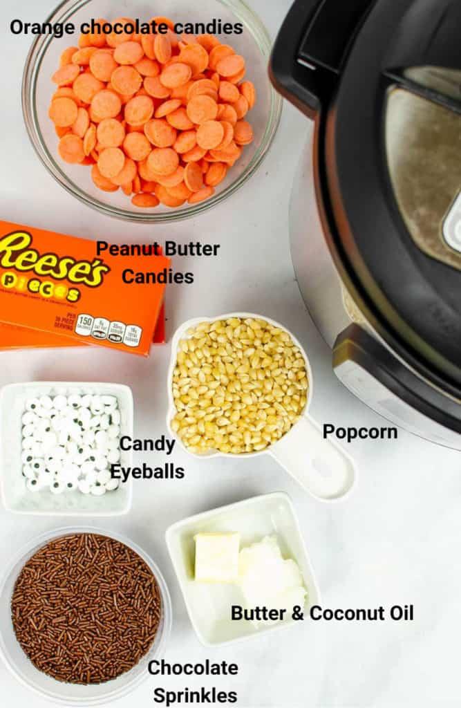 instant pot popcorn ingredients