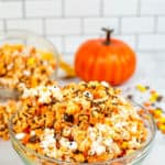 monster munch instant pot popcorn in a glass bowl