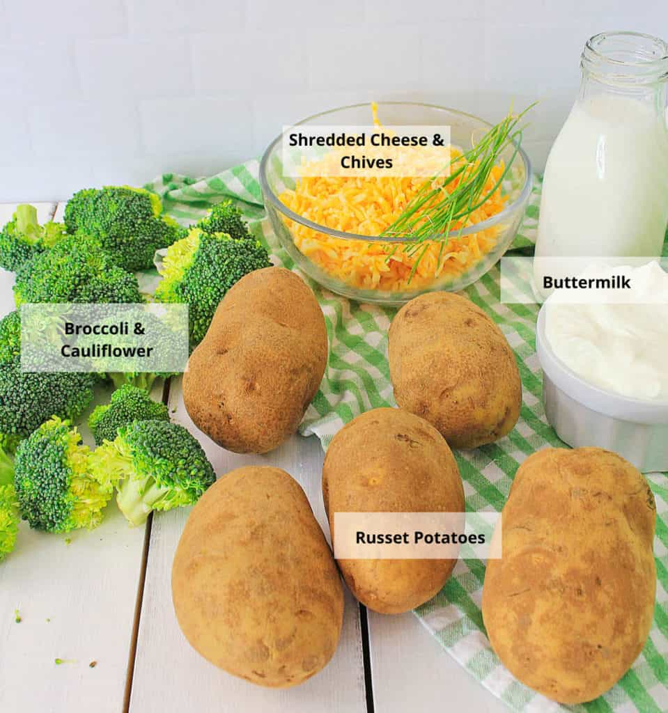 baked potato ingredients