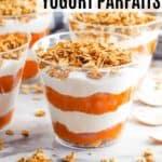 pumpkin yogurt parfaits