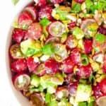 grape and avocado salad