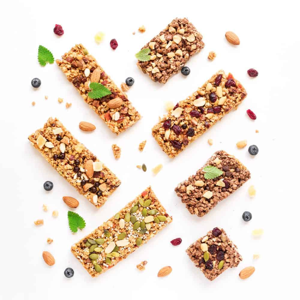 healthy snacks for toddlers - toddler snacks - homemade granola bars with nuts and seeds