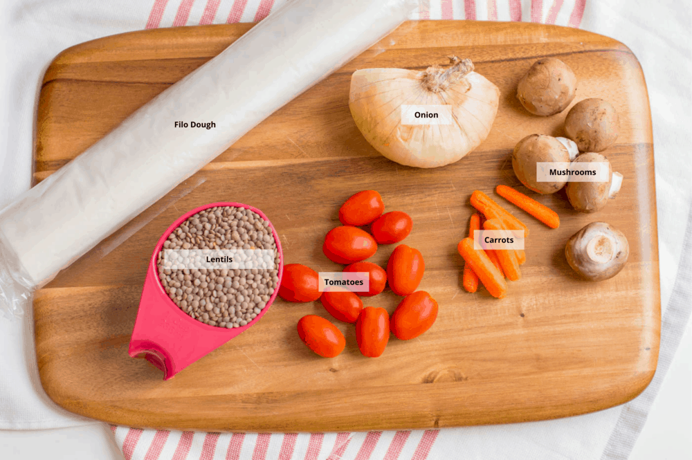 vegan wellington ingredients