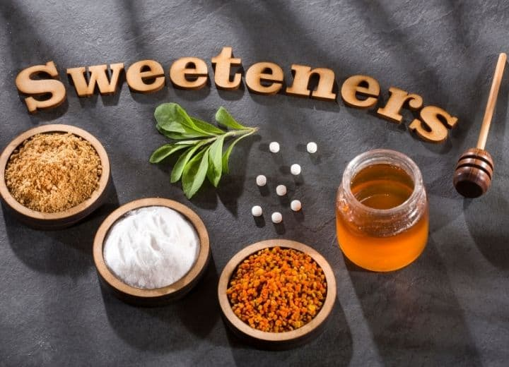 different types of sweeteners
