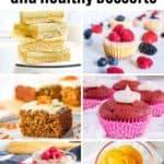 low sugar desserts collage