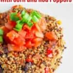 black bean and quinoa cakes