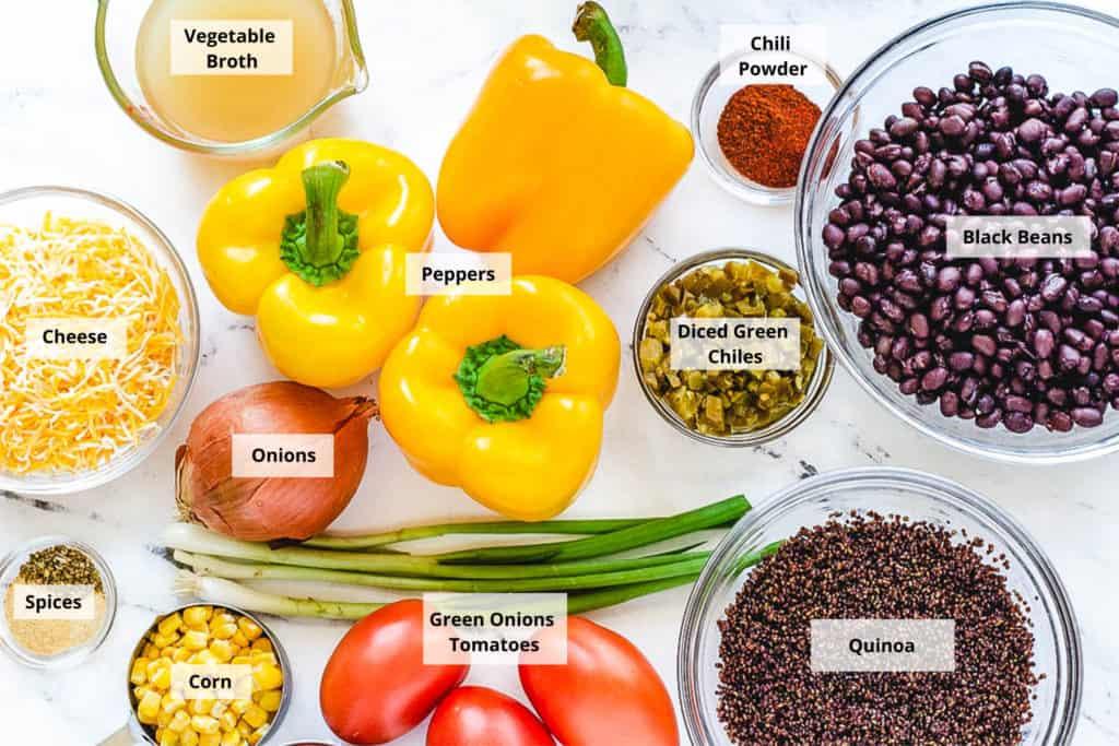 black bean casserole ingredients