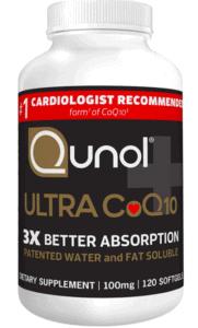 Qunol CoQ12 supplement bottle