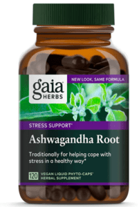 Gaia Ashwagandha bottle