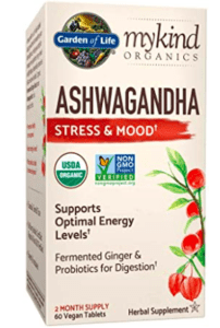 Garden of Life Ashwagandha for Adrenal Fatigue supplement