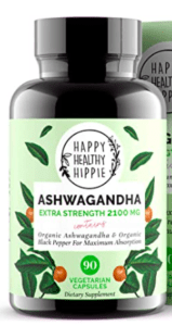 Happy Healthy Hippie Ashwagandha Bottle - Ashwagandha for Adrenal Fatigue
