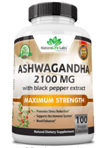 NaturaLife Labs Ashwagandha for Adrenal Fatigue
