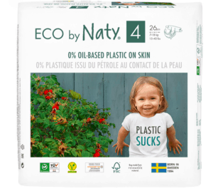 eco by naty package of diapers