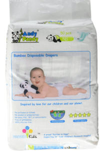 package of Andy Pandy diapers