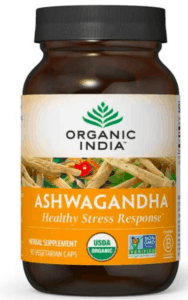 Organic India Ashwagandha for Adrenal Fatigue