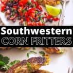 southwestern corn fritters