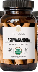 Truvani Ashwagandha Bottle