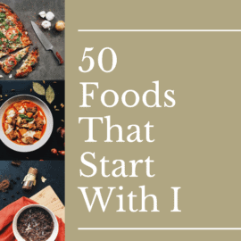 foods that start with i logo