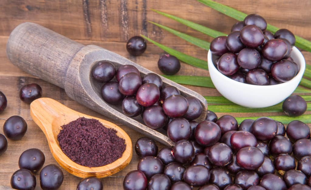 acai berry foods that start with a