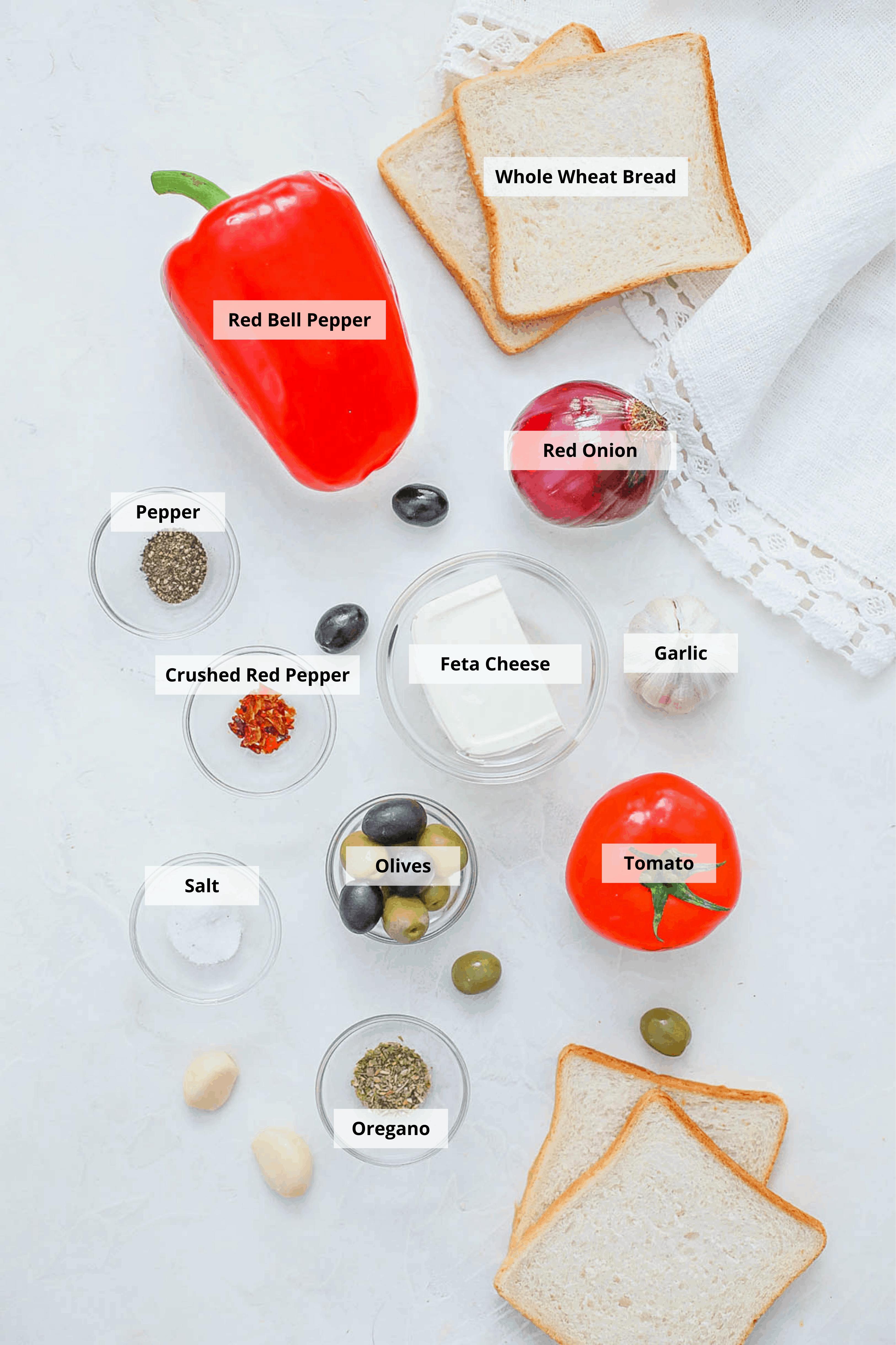mediterranean sandwich ingredients