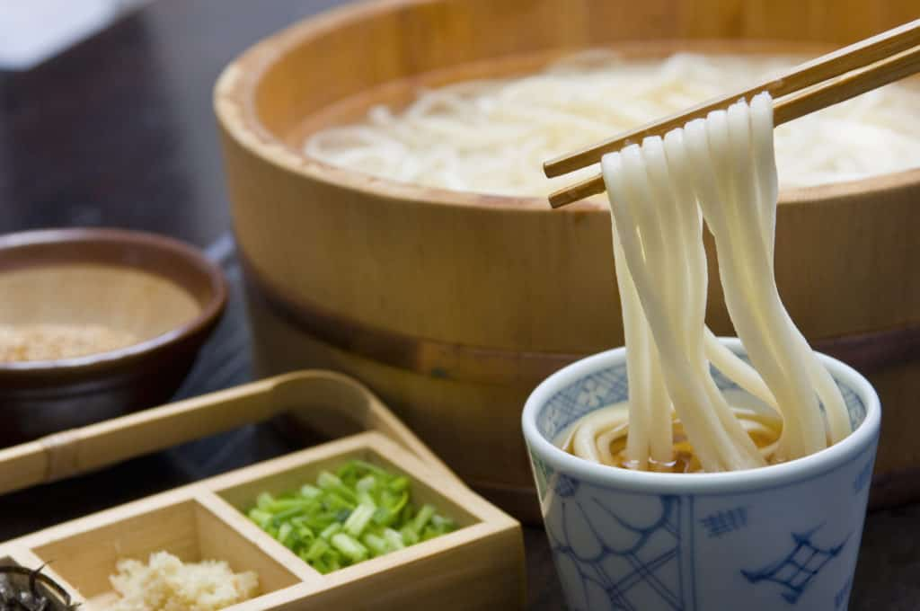 udon noodles foods that start with u