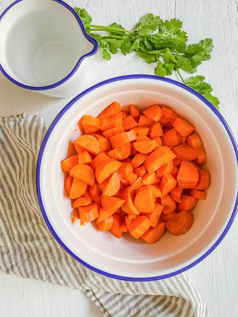 veggies in a pot