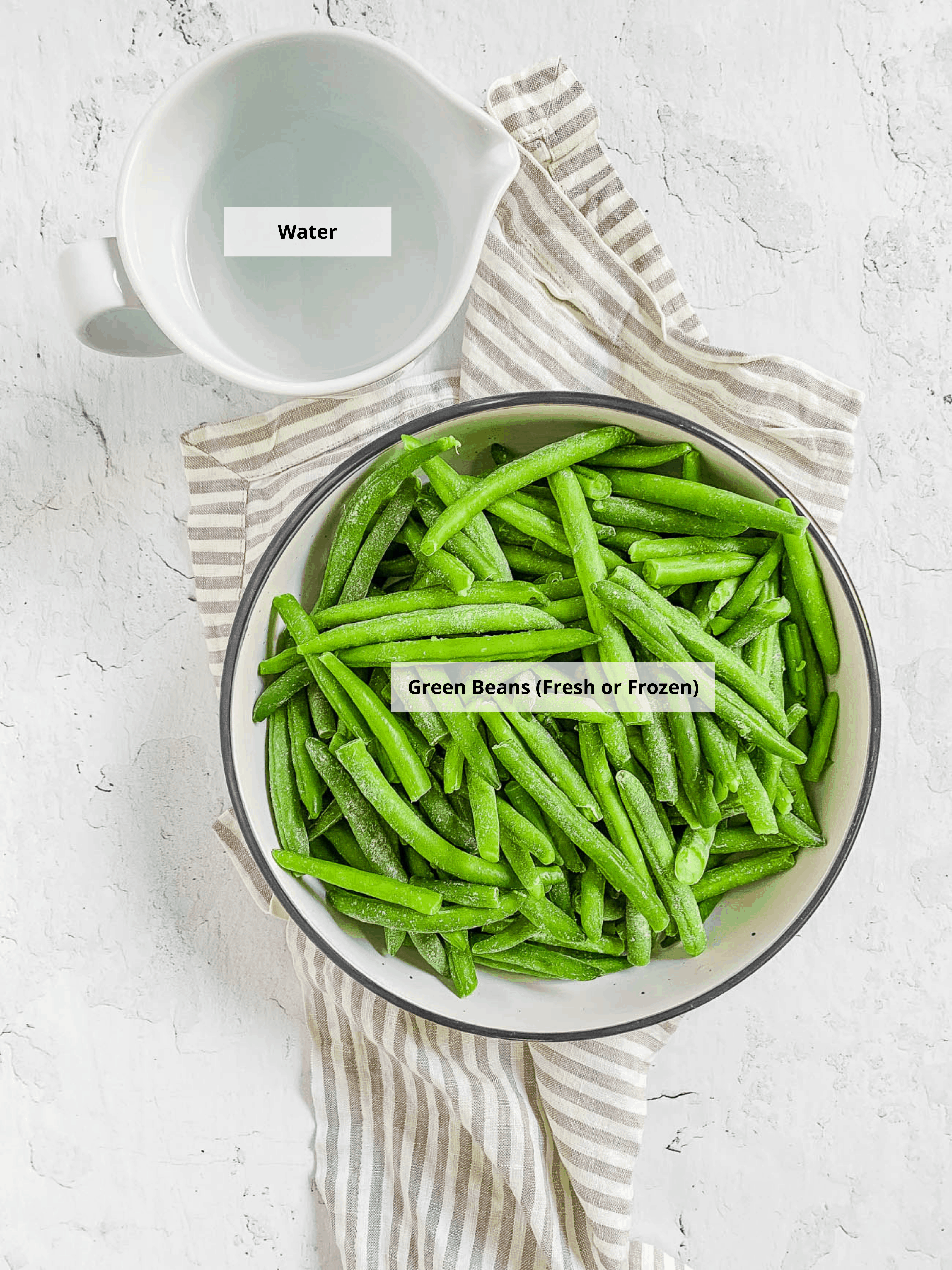 green bean puree ingredients