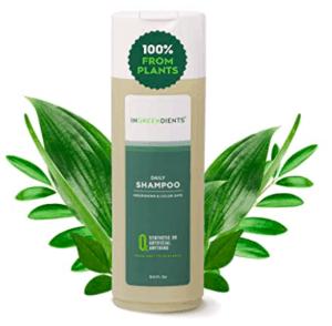 Ingreedients Shampoo bottle.