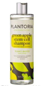 Bottle of Plantoria Shampoo.