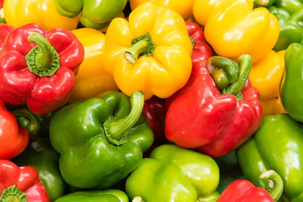 foods that start with b - bell pepper
