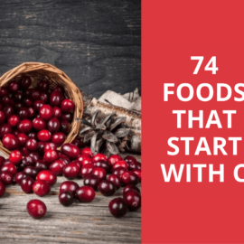 foods that start with c graphic