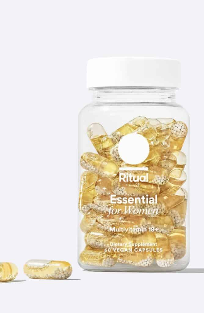 ritual vitamins review - bottle of essential for women 18+