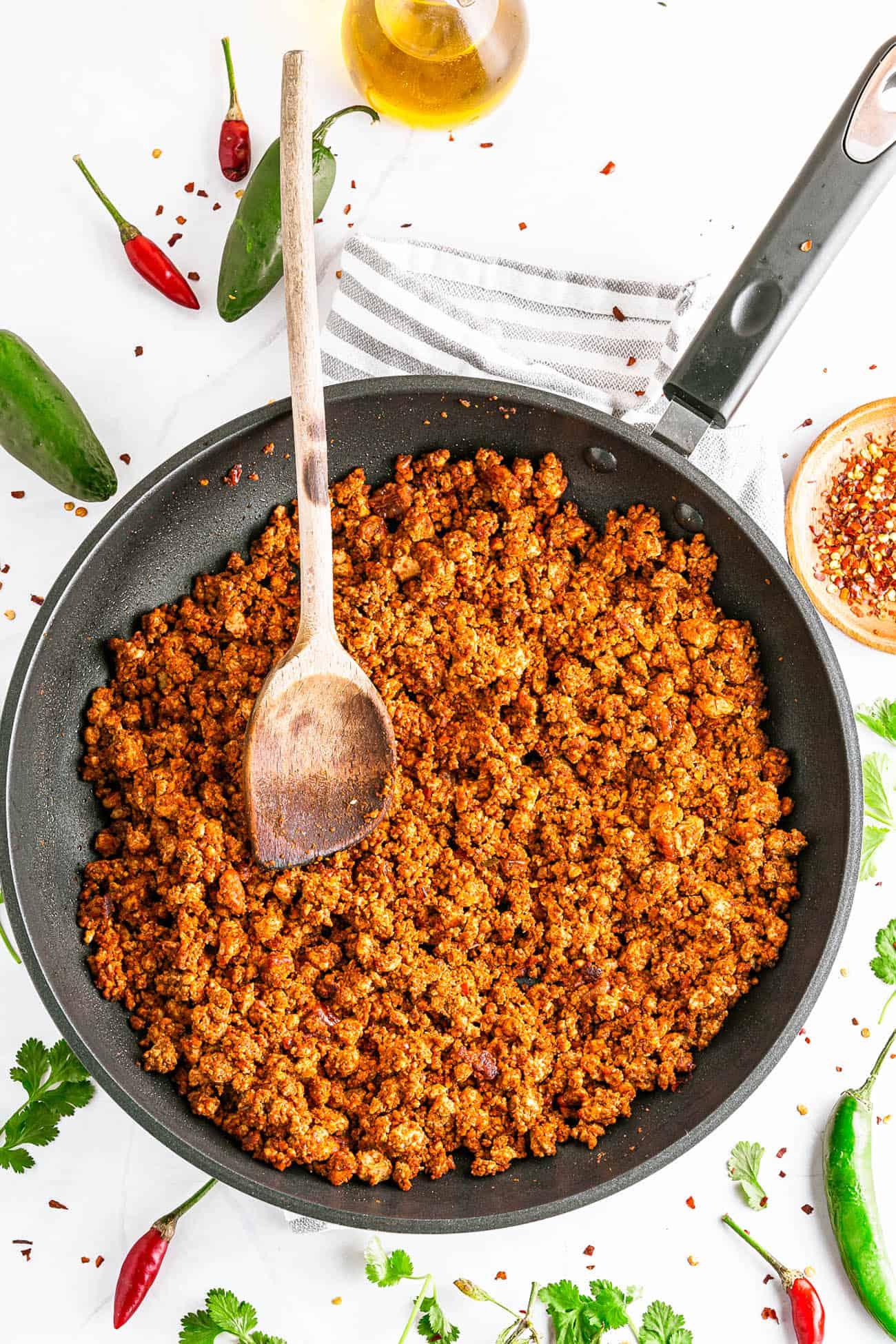 Vegan Chorizo Recipe (Homemade, Easy)