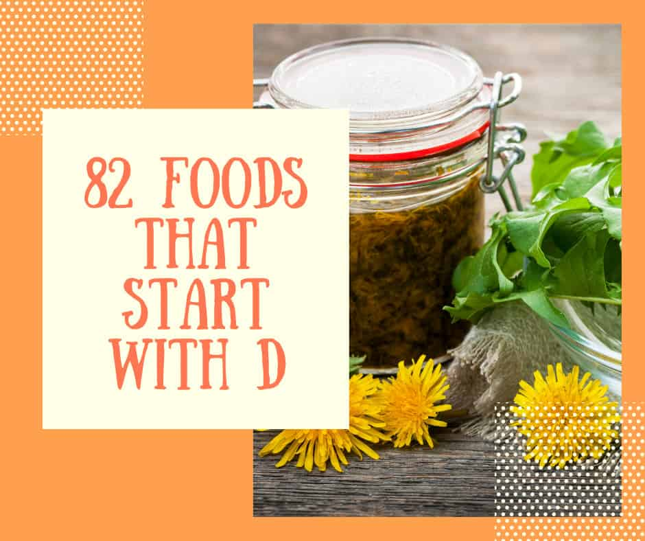 foods that start with d logo