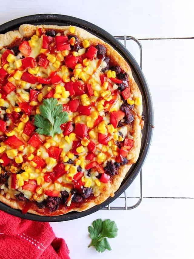 bbq flatbread pizza