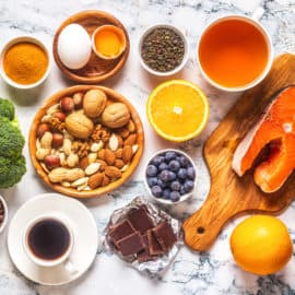 kids vitamin for brain - Best foods to boost your brain and memory, top view