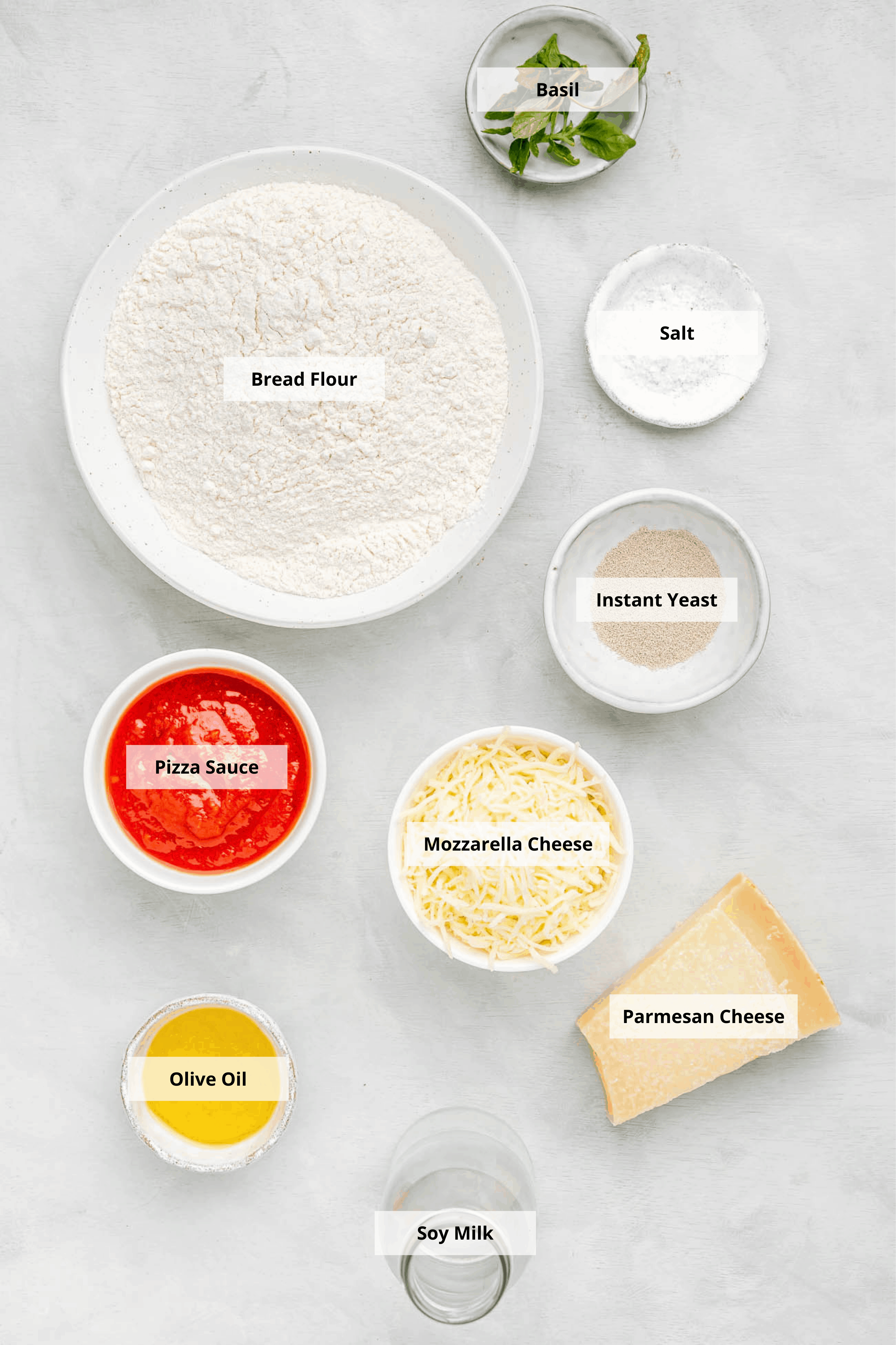 ingredients for air fryer pizza rolls