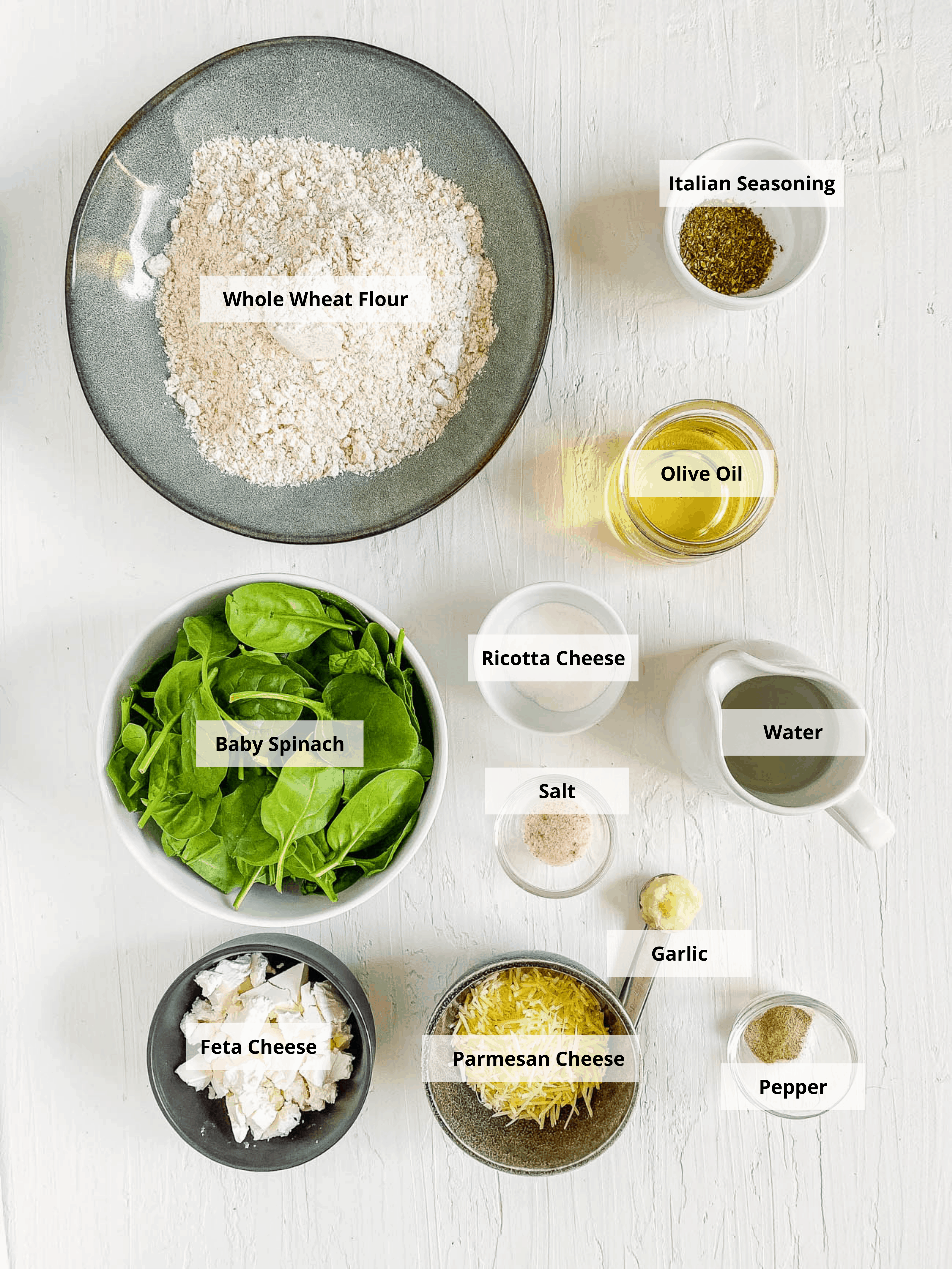 ingredients for florentine pizza