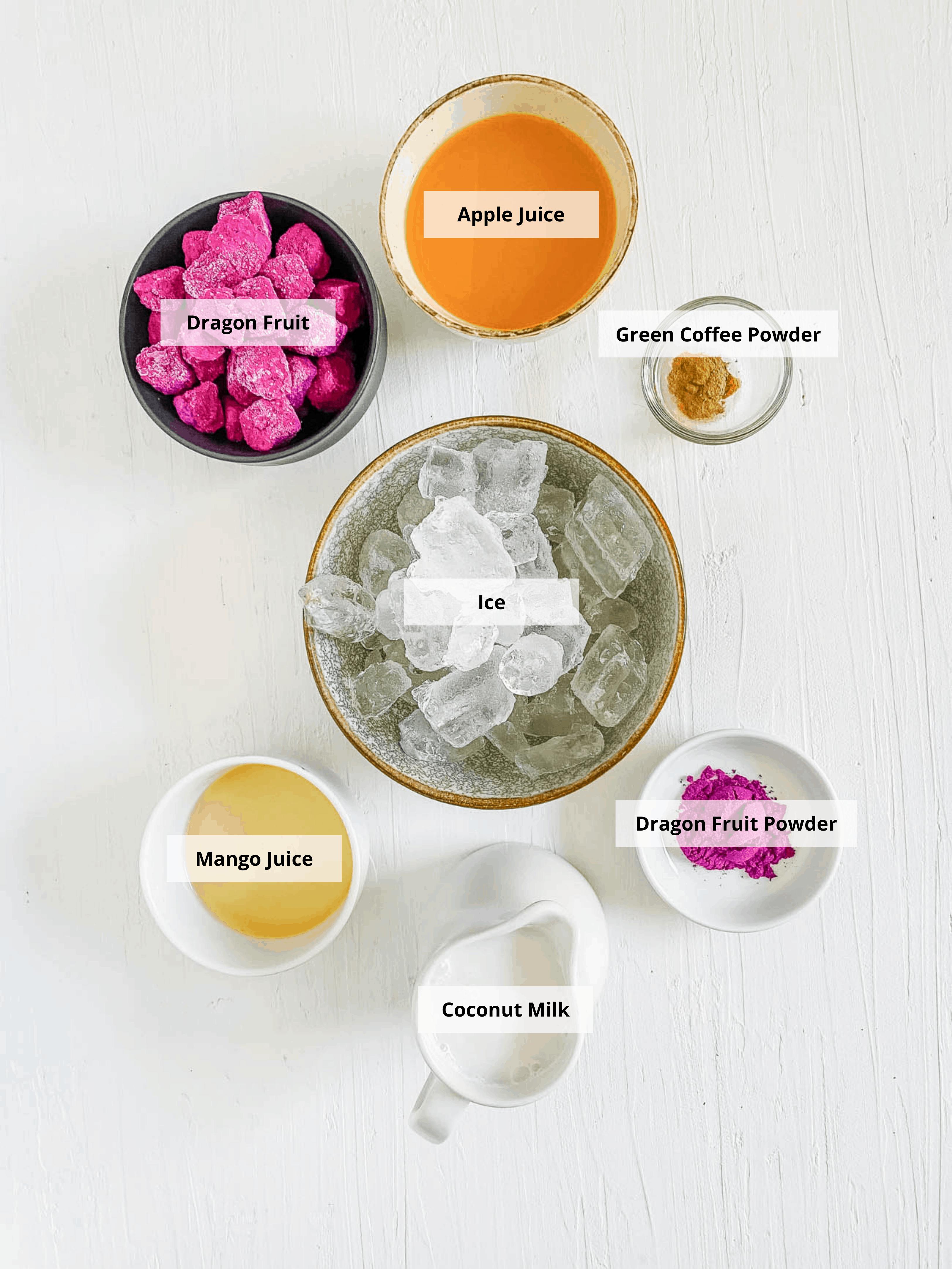 ingredients for copycat starbucks dragon drink recipe